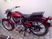 Royal Enfield with 350cc