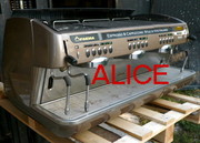 USED ESPRESSO MACHINE,  ITALIAN,  VERY NICE