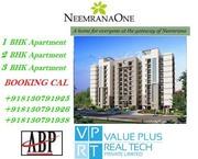 +918130791925 / 1BHK, 2BHK, 3BHK Apartment in Neemrana One
