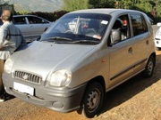 URGENT SALE OF SANTRO CAR , 1999 DL 3C registred,  excellent condition