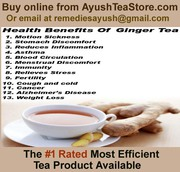 Drinking Ginger Green Tea Is Good For Health