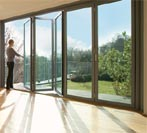 Doors Windows Manufacturers,  Aluminium Bi Folding Doors