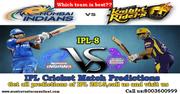 IPL T20 Match Predictions