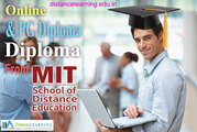Online PG Diploma  from MIT Distance learning