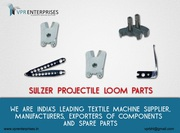 Sulzer Projectile Loom Parts,  Textile Machine Components,  Sulzer Loom