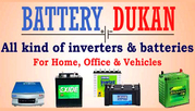 Buy Inverter Batteries Online,  Car Battery Dealers in Jaipur