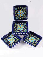Exquisite Blue Pottery Product