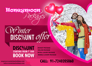 Tour Packages for Manali,  Honeymoon Packages Shimla Manali