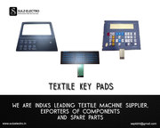 Textile Machine Key Pads Supplier,  Textile Electronics Part Supplier
