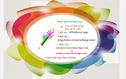 Holi Discount Offer on Travel Portal and API