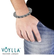 Gift your Man a Stylish and Trendy Steel Bracelet from Voylla