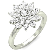 14/18 Kt Dazzling Diamond Engagement Rings for Men & Women
