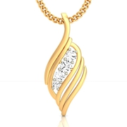 Buy Online Gold & Diamond Pendent for Her