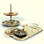 Printed High Tea Tray Set