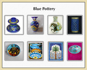 Beautiful collection of Blue pottery Products