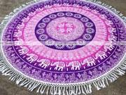 Round Tassel Mandala- fairdecor