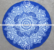 Round Beach Blanket - Fairdecor