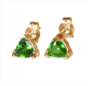 TRILLION TSAVORITE EARRINGS
