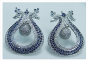 DESIGNER CHANDELIER EARRINGS JEWELLERY