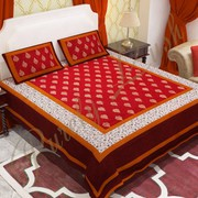 Buy Hand Block Printed Jaipuri Bed Sheet Online