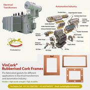 Rubberised Cork Frames manufacturer,  Supplier & Exporter