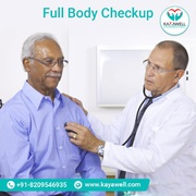 BOOK ADVANCED FULL BODY CHECKUP From KAYAWELL NOW @ 50% OFF (128 Test)