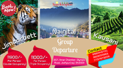 jimcorbett nainitaal kausani group departure by traveltoexplore pvt lt