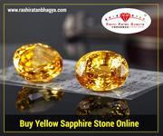 Buy Yellow Sapphire/Pukhraj Stone Online | Rashi Ratan Bhagya