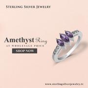 Buy Sterling Silver Jewelry Gemstone Rings Online