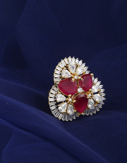 Buy Latest Ring Design for Girls at best price from Anuradha Art Jewel