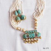 Buy Kundan Matte Meenakari Necklace Sets Online