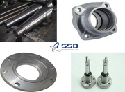 Forged Automotive Parts |Bearing Shaft | Bearing Cone