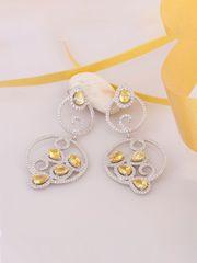 Latest Designer Silver Earrings