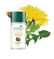 biotique bio dandelion visibly ageless serum review