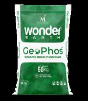 Buy best rock phosphate online:  Wonder Earth GeoPhos at NM India Biot