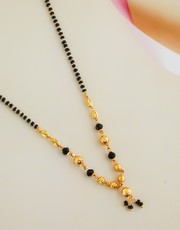 Check Out the Collection of Short Mangalsutra Designs at Best Price