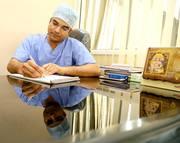 Dr. Buddhi Prakash Sharma,  plastic and cosmetic surgeon in Jaipur.
