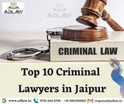 Top 10 Criminal Lawyers in Jaipur