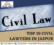 Top 10 Civil Lawyers in Jaipur