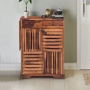 Buy Wooden Shoe Rack Online in India at Wooden Alley