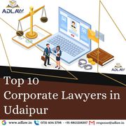 Top 10 Corporate Lawyers in Udaipur