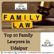 Top 10 Family Lawyers in Udaipur