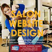 Salon Website Design,  Beauty Salon,  Spa Website Design