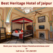 Book Your Next Stay at One of the Best Heritage Hotels of Jaipur