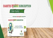 Diabetes Suraksha Subscription Package