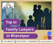 Top 10 Family Lawyers in Bharatpur