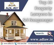 Top 10 Property Lawyers in Sri Ganganagar