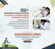 B.Sc. Biotechnology Admission